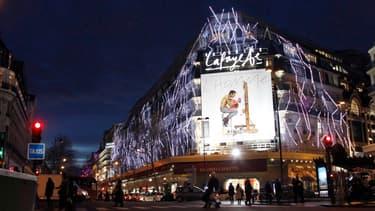 Les Galeries Lafayette.