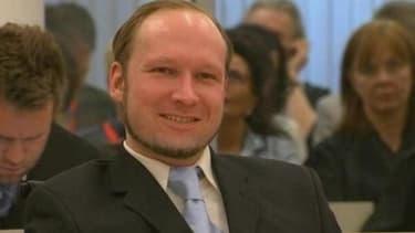 Anders Behring Breivik, lors de son procès en août dernier.