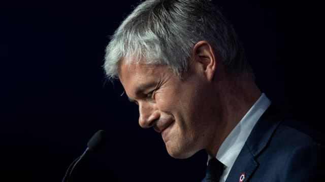 Laurent Wauquiez lors du conseil national des Républicains le 16 mars 2019