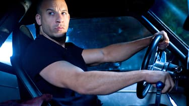 "Vin Diesel dans la saga ""Fast & Furious"" -"