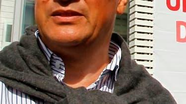 Jean-Christophe Cambadélis a annoncé lundi qu'il présenterait une candidature commune avec Harlem Désir pour la direction du Parti socialiste si Martine Aubry ne souhaite pas rester première secrétaire. /Photo d'archives/REUTERS/Régis Duvignau
