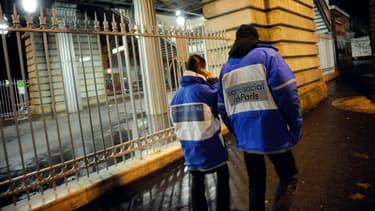 Les bénévoles effectuaient une maraude lorsqu'ils ont été agressés. Photo d'illustration