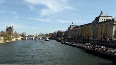 Un podium flottant sera installé sur la Seine le 30 septembre.