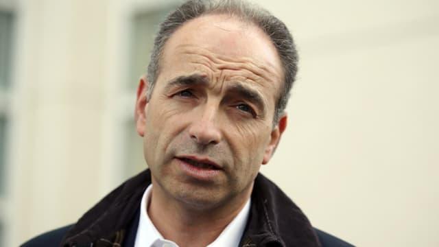 Jean-François Copé le 23 mars 2014 à Meaux. - Kenzo Tribouillard - AFP