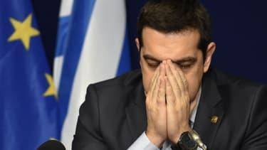"""La Grèce ne veut pas mettre en oeuvre les politiques d'austérité exigées par les créanciers réunis au sein de la """"troïka""""."""