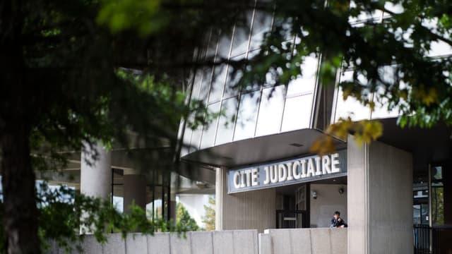 L'entrée de la cité judiciaire, le tribunal de Rennes, le 23 septembre 2019 (photo d'illustration)