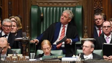 Le président de la Chambre des Communes John Bercow le 31 octobre
