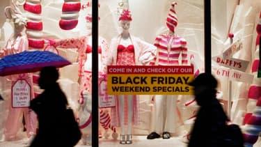 """Le vendredi, lendemain de thanksgiving, pour le """"black friday"""", les Américains vont dépenser en une journée plus que le PIB annuel de la Pologne."""