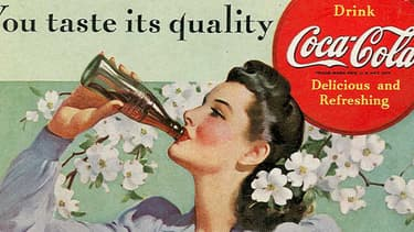Publicité américaine pour Coca-Cola datant de 1942.