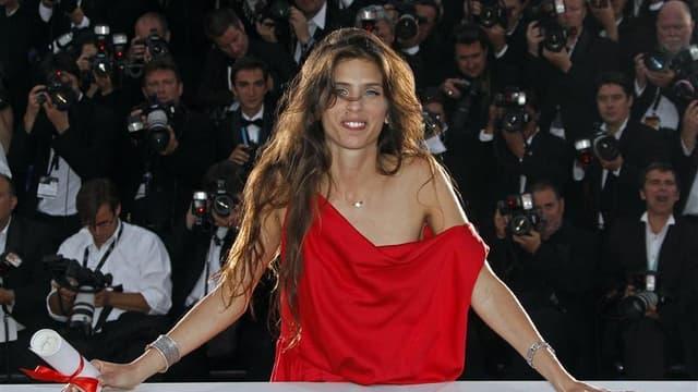 """Maïwenn, réalisatrice de """"Polisse"""", Prix du jury du dernier Festival de Cannes. Avec 13 nominations, le film se taille la part du lion dans la liste des nommés révélée vendredi par l'Académie des César, devant """"The Artist"""" de Michel Hazanavicius qui en to"""