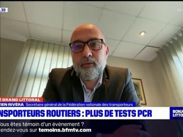 """Plus de tests PCR pour les routiers: """"C'est un soulagement pour nos conducteurs"""", assure la Fédération nationale des transporteurs"""