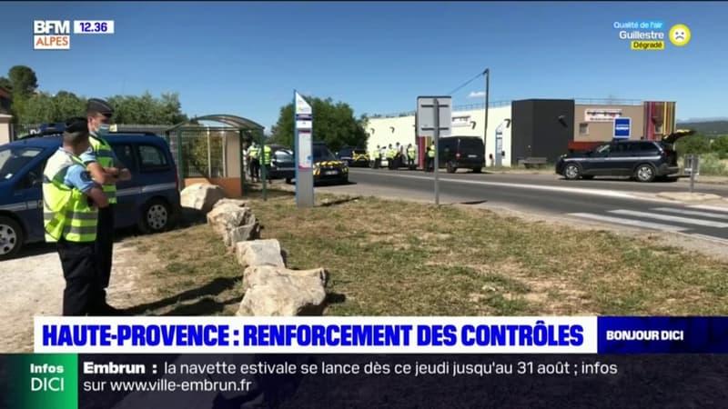 Alpes-de-Haute-Provence: renforcement des contrôles routiers à Corbières