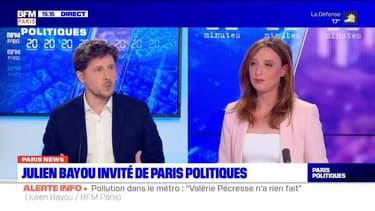 Julien Bayou invité de Paris Politiques, revoir l'émission