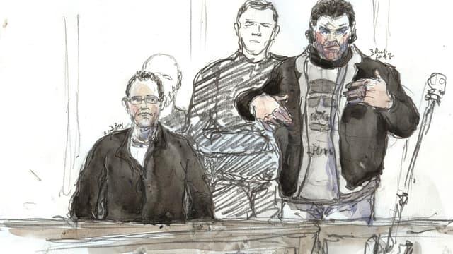 Farid Kharraki a joué la carte de la blague lors de la troisième journée du procès du vol de cocaïne au 36 quai des Orfèvres.