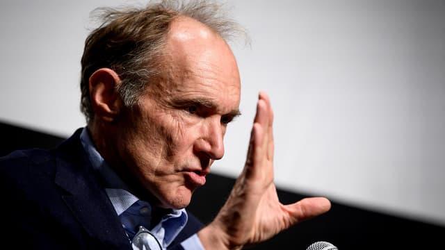Tim Berners-Lee, créateur du World Wide Web, à Genève, le 11 mars 2019