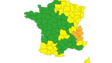 4 départements du Centre-Est sont en vigilance orange pour risque d'avalanches.