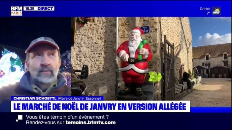 Ni vin chaud, ni photos avec le père Noël : comment la mairie de Janvry a adapté son marché de Noël