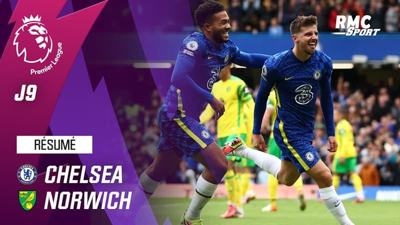 Résumé : Chelsea 7-0 Norwich - Premier League (J9)
