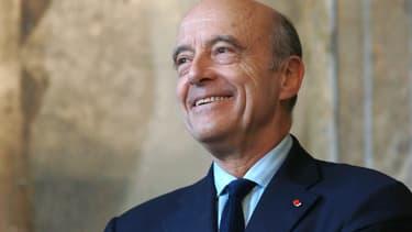 Alain Juppé à la mairie de Bordeaux, le 10 octobre 2014.