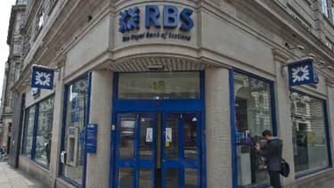 Royal Bank of Scotland aurait poussé ses clients à la faillite.