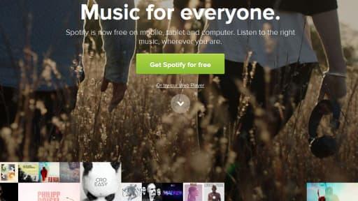 Le Français Deezer n'est pas présent aux Etats-Unis où Spotify et Pandora se partagent le marché.