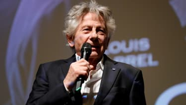 """Le cinéaste Roman Polanski lors de l'avant-première du film """"J'accuse"""", le 4 novembre 2019 à Paris"""