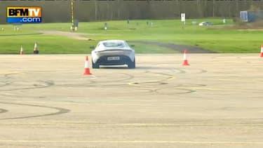 Se glisser dans la peau de James... au volant d'une Aston Martin