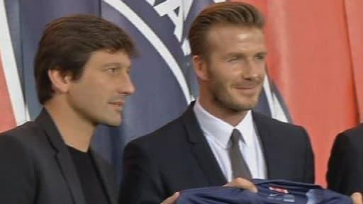David Beckham mènera une vie de star à Paris