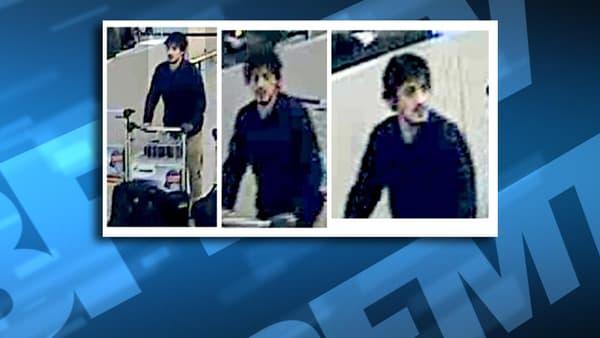 Les trois suspects des explosions à l'aéroport de Bruxelles, dont celui-ci, ont été filmés par les caméras de surveillance.