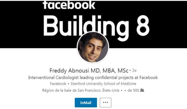Freddy Abnousi dirigeait la mission de recherche médicale lancée chez Facebook.
