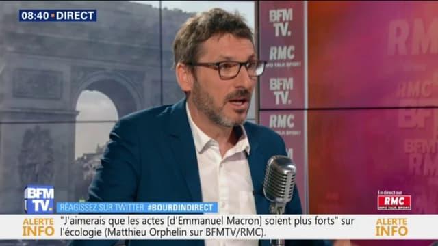 Le député du Maine-et-Loire Matthieu Orphelin