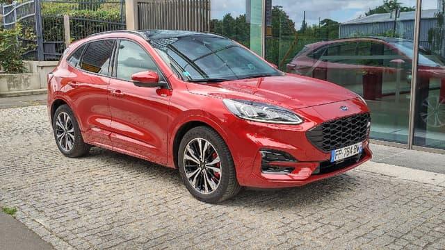 Ford lance son premier hybride rechargeable cette année, le Kuga PHEV.