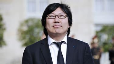 Jean-Vincent Placé, président du groupe écologiste au Sénat.