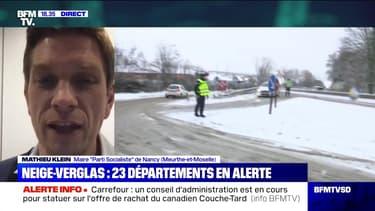 """Mathieu Klein: """"En une journée, il est tombé trois fois plus de neige que sur toute la saison hivernale l'année dernière"""" - 16/01"""