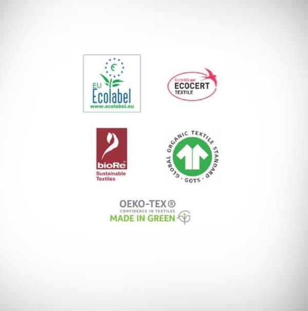Il existe aussi des labels environnementaux pour les vêtements :