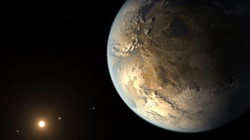 La première exoplanète habitable de même taille que la Terre.