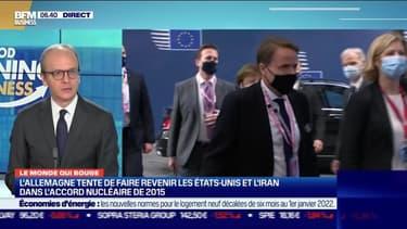 Benaouda Abdeddaïm : L'Allemagne tente de faire revenir les Etats-Unis et l'Iran dans l'accord nucléaire de 2015 - 18/02