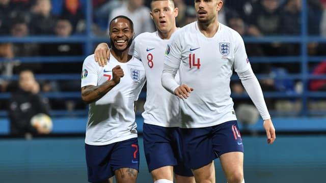 L'Angleterre s'est imposée contre le Monténégro (5-1).