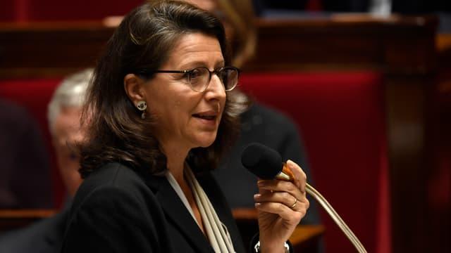 La ministre de la Santé Agnès Buzyn, le 4 octobre 2017 à l'Assemblée nationale à Paris.