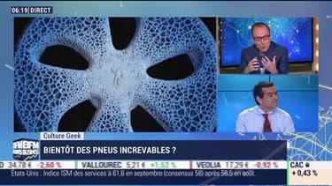 Anthony Morel: Bientôt des pneus increvables ? - 04/10