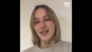 """""""Plus on attend et plus c'est dur"""": Heïdi, l'étudiante qui a écrit à Emmanuel Macron, réagit à sa réponse sur BFMTV"""