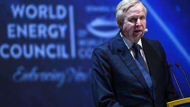 Le directeur général de BP, Bob Dudley, lors du 23e congrès mondial de l'énergie.