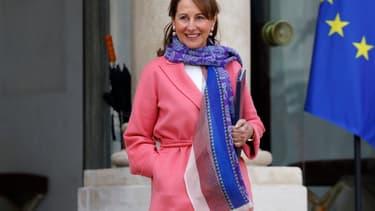 Ségolène Royal, ministre de l'Ecologie