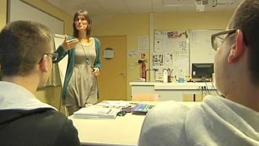A Nantes, Anthony (à droite de l'écran) a bénéficié, comme 23.000 jeunes, du plan de l'Education nationale de lutte contre le décrochage scolaire.