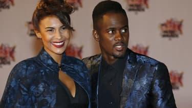 Lia et Black M en novembre 2015