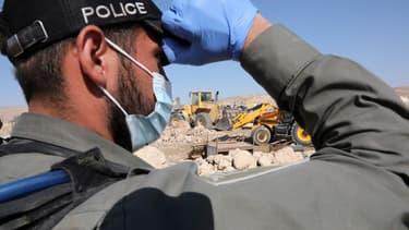 Un officier de la police israélienne.