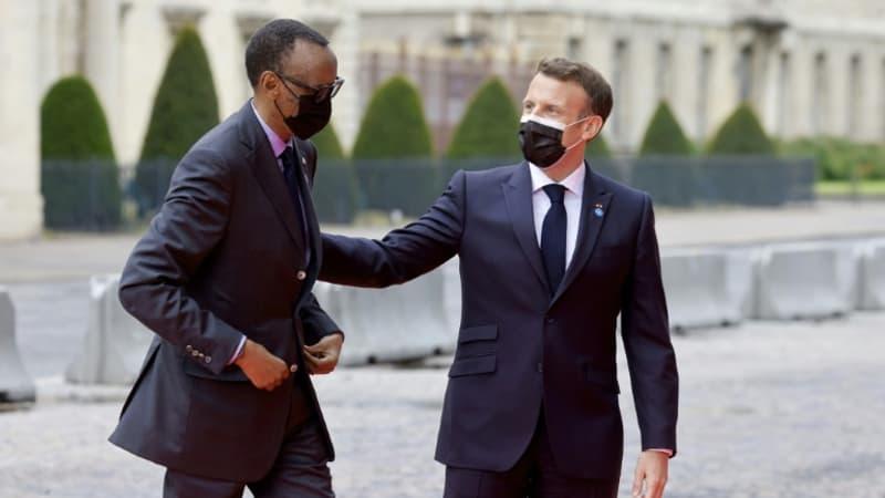 """Attendu au Rwanda, Emmanuel Macron veut """"écrire une page nouvelle"""""""
