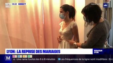 Lyon: les mariages reprennent progressivement