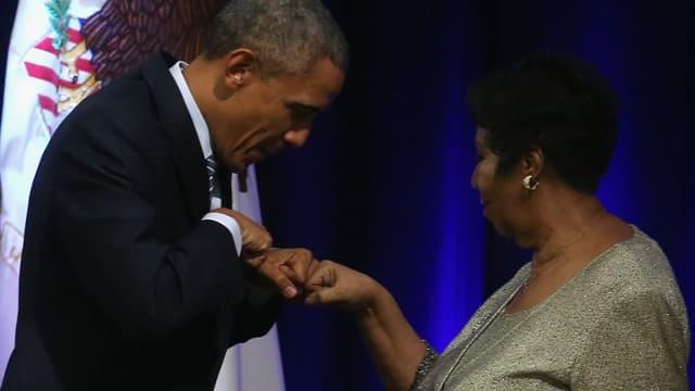 Aretha Franklin avait chanté pour l'investiture de Barack Obama en 2009.