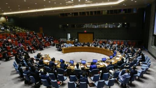 Réunion du Conseil de sécurité de l'ONU, le 30 mai 2018 à New York
